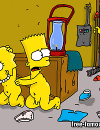 Bart and lisa simpsons orgy - part 3