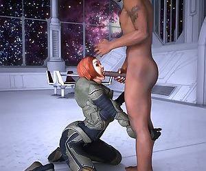 Mercenary slut sucks black dick - part 4