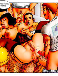 Two breasty plumper matures and foremen groupsex - part 2