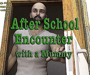 Casgra- Nuit Bleu – After School Encounter with a Mummy