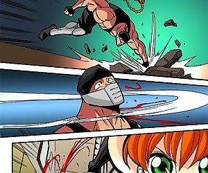 Hells Ninja 8 & 9- Hentai Central