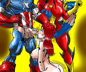 Wolverino hot Superheroes Work