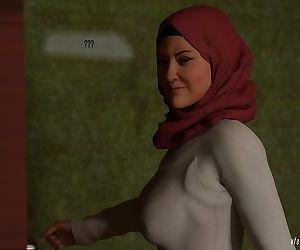 Naughty Hijab 3DX- Good Wife- VforVendettaV