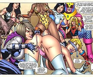 Gladiadora's Training- Superheroine Central