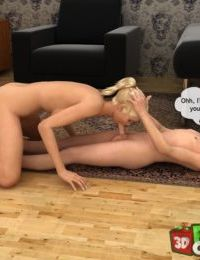 Sporty mom boned by son- Family Orgies - part 3