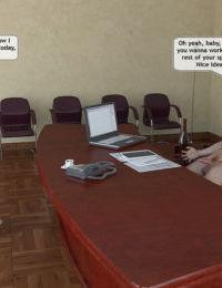 Dad's new secretary- Magic Incest - part 2