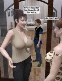 Mom friend trying boy- Incest