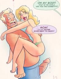 Father Time- Incest Pinups
