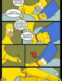 Wit Simpsons- Drawn Sex