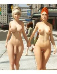 Anastasia & Eve Public Exxxposure - part 6