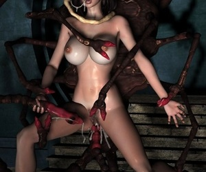 Cute blonde elf enjoying anal sex with two men - part 775