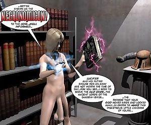 Attack of the necronomicon 3d porn horror comics anime hentai - part 599