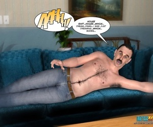 A pregnant girl in these adult comics - part 261