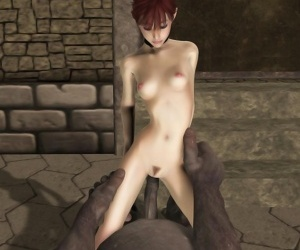 Redhead elf driving troll with big cock in mad fuck orgy - part 755
