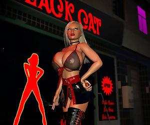 Hot 3d street hooker exposing her big boobs - part 354