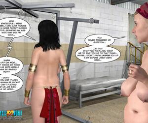 Pregnant lesbian toy and bondage comics - part 301