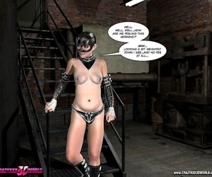 Kinky bondage comics - part 269