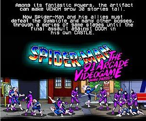 Spider-Man - The 91 Arcade Video Game