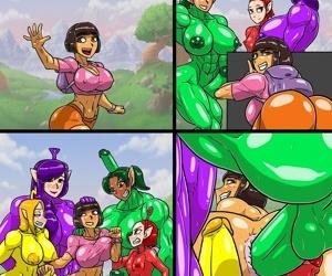 Dora X Teletubies