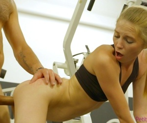Ava parker does her fitness routine - part 55