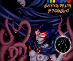 Teen Titans- Mispelled Mishaps