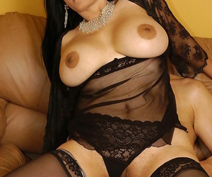 Crestfallen granny daughter with perfect tits fucked enduring by enduring cock - affixing 4929