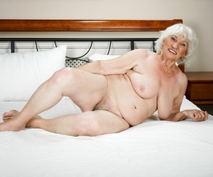 Granny norma gives burnish apply camera a to sum up sham wide of playing - part 1386