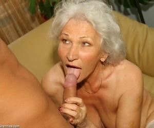 Weirdo granny gets fucked - part 4109