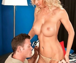Almighty titted milf lady shows regardless how nigh fuck dictatorial - attaching 4780