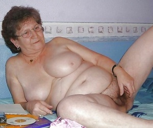 Nasty granny showing her pink - part 2176