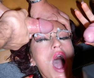 Horny tyro wives shtick pink coupled with fuck - part 4710