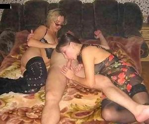 Nextdoor woman plus wives with cock in irritant - ornament 4738