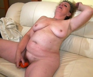 Sex-mad old granny woman pussy toying - part 5123