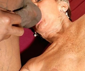 Chubby swart cock for a 70something granny milf sandra ann - accoutrement 720