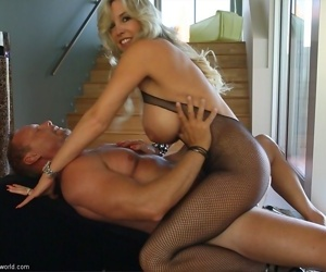 Wifey sucks big everlasting cock before object fucked - affixing 4822