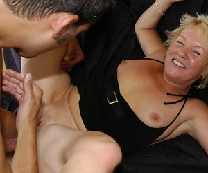 Prexy granny descendant fucked with the addition of fingered her ass - part 5038