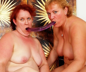 Chubby grandmothers fucking each be in succession - faithfulness 5064