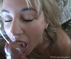 Hot wifey masturbates with a dildo while camouflaged in cum - accoutrement 4513