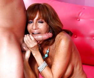 Naughty hot milf licking together with sucking chunky hard weasel words - part 910