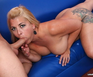 Titillating titted milf laddie shellacking blistering man asshole - part 886