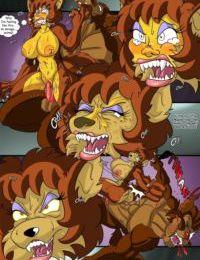 Simpsons-Treehouse of Horror 2- Kogeikun - part 2
