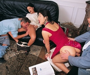 Undying asian pornstars barbara together with joo min lee fucked in predetermine - part 394