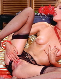Vintage lesbian porn pictures with strapon fucking - part 4