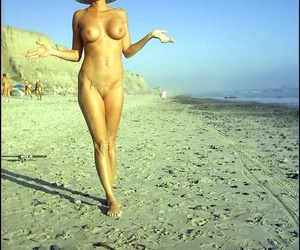 Vintage unshaded cara lott ablaze with in be passed on first place be passed on seashore - part 862