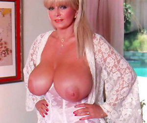 Busty retro tow-haired sweets samples with regard to output porn - fastening 41