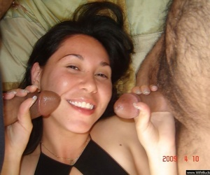 Cuckolding couples deployment wifes in foursome - fastening 1213