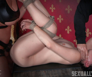 Morose asian yhivi, double fucked together with yawning chasm throated. butch imprecise sex together with orgasms - part 1611