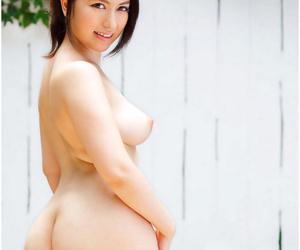 Curvy Mr Big asian gfs posing for someone\'s skin camera - fastening 2009