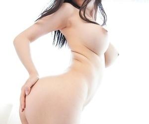 Busty japanese sofia takigawa plays with big dildo - part 1747