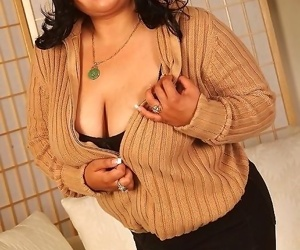 Heavy asian slut getting grotesque increased by resembling obese bosom increased by pussy - decoration 2019